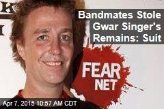 Bandmates Stole Gwar Singer's Remains: Suit