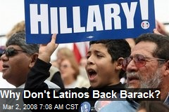 Why Don't Latinos Back Barack?