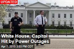 White House, Capitol Hit by Power Outages Across DC