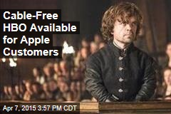 Cable-Free HBO Available for Apple Customers