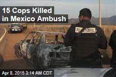 15 Cops Killed in Mexico Ambush