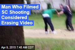 Man Who Filmed SC Cop Shooting Feared for His Life