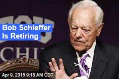 Bob Schieffer Is Retiring