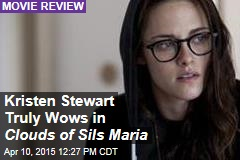 Kristen Stewart Truly Wows in Clouds of Sils Maria