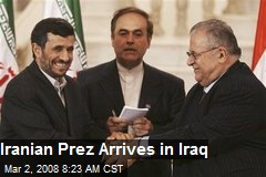 Iranian Prez Arrives in Iraq