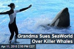 Grandma Sues SeaWorld Over Killer Whales