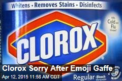 Clorox Sorry After Emoji Gaffe