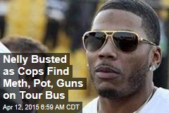 Nelly Busted on Felony Drug Charges