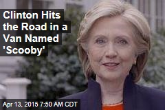 Hat Tossed in the Ring, Clinton Hits the Road