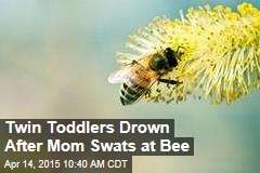 Twin Toddlers Drown After Mom Swats at Bee