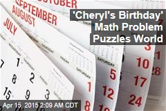 'Cheryl's Birthday' Math Problem Puzzles World