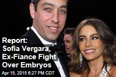 Report: Sofia Vergara, Ex-Fiance Fight Over Embryos