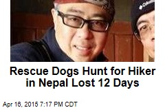 Rescue Dogs Hunt for Hiker in Nepal Lost 12 Days