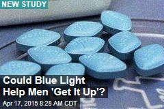 Could Blue Light Help Men 'Get It Up'?