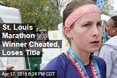 St. Louis Marathon Winner Cheated, Loses Title