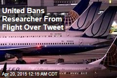 United Bans Researcher for Security Joke