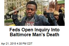 Feds Open Inquiry Into Baltimore Man's Death