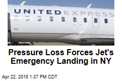 Pressure Loss Forces Jet's Emergency Landing in NY