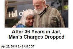After 36 Years in Jail, Man's Charges Dropped