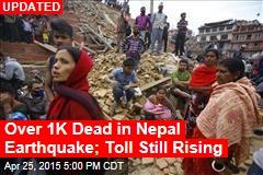 Scores Dead in Massive Nepal Earthquake