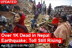 Scores Dead in Massive Nepal Earthquake