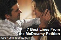 7 Best Lines From the McDreamy Petition