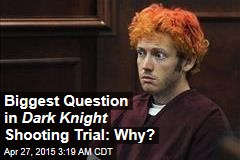 Biggest Question in Dark Knight Shooting Trial: Why?