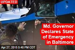 Baltimore Cops Injured in Street Riot: Reports