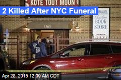 6 Shot Outside NYC Funeral