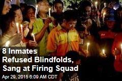 8 Inmates Stared Down Firing Squad, Sang Hymns