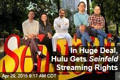 In Huge Deal, Hulu Gets Seinfeld Streaming Rights