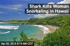Shark Kills Woman Snorkeling in Hawaii