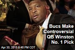Bucs Make Controversial QB Winston No. 1 Pick