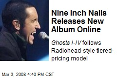 Nine Inch Nails Releases New Album Online