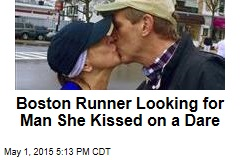 Boston Runner Looking for Man She Kissed on a Dare