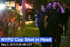 NYPD Cop Shot in Head