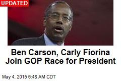 Ben Carson Is Running for President