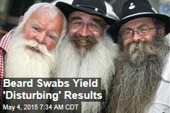 Beard Swabs Yield 'Disturbing' Results