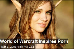 World of Warcraft Inspires Porn