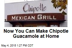 Now You Can Make Chipotle Guacamole at Home