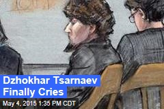 Dzhokhar Tsarnaev Finally Cries