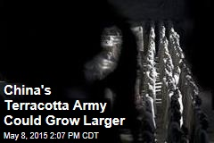 China's Terracotta Army Could Grow Larger