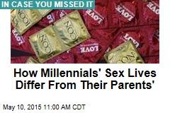 Millennials Have Fewer Sex Partners Than Parents