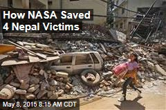 How NASA Saved 4 Nepal Victims
