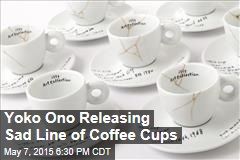 Yoko Ono Releasing Line of Coffee Cups