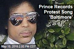 Prince to Sing 'Baltimore' Protest Song in Baltimore
