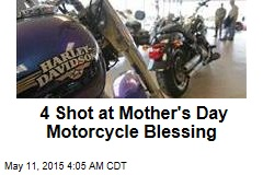 4 Shot at Mother's Day Motorcycle Blessing