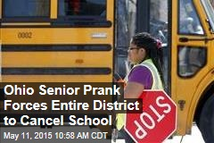 Ohio Senior Prank Forces Entire District to Cancel School
