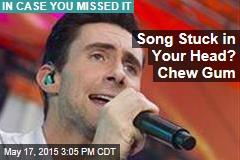 Song Stuck in Your Head? Chew Gum