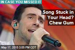 Song Stuck in Your Head? Chew Gum